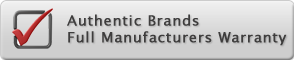 Authentic Brands - Full Manufacturers Warranty