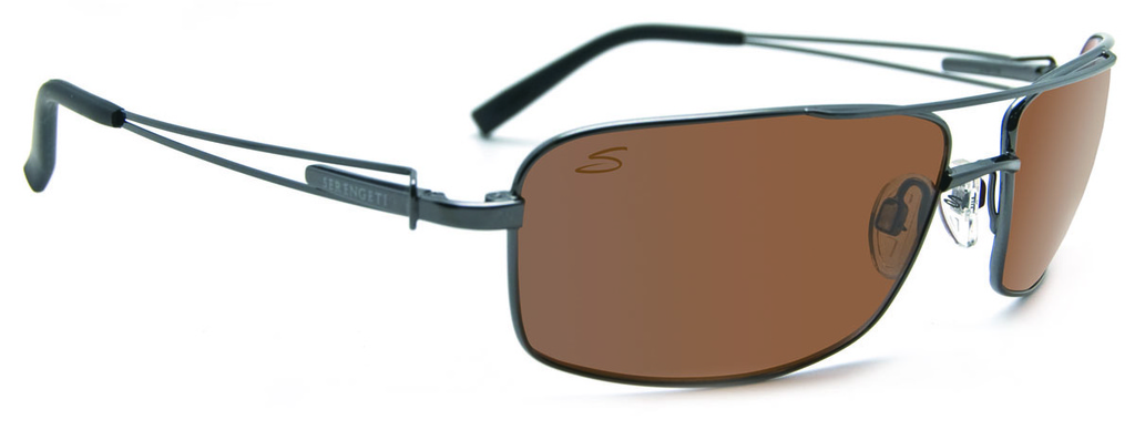 serengeti sunglasses 7t1d  Serengeti Eyewear Dante Shiny Gunmetal & Satin Gunmetal, Driver Polarised  Lenses