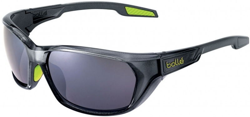 Bolle Sunglasses Aravis Shiny Anthracite with TNS Gun Lenses