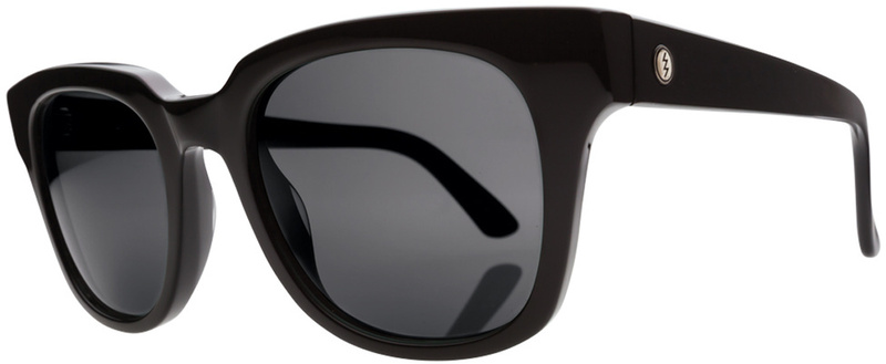Electric 40Five Gloss Black Sunglasses with CR39 Melanin Grey