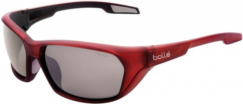 Bolle Eyewear Aravis Matte Red with Polarised TNS Gun Lenses