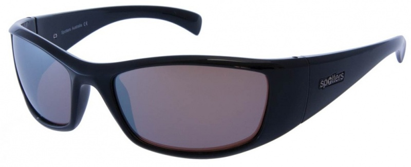 Spotters Artic + Sunglasses Gloss Black, Platinum