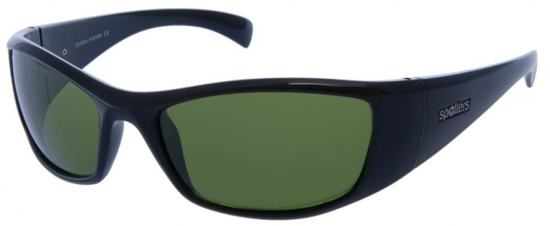 Spotters Artic + Sunglasses Gloss Black CR Emerald
