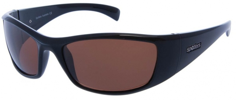 Spotters Artic + Gloss Black, Copper Halide Polarised Sunglasses