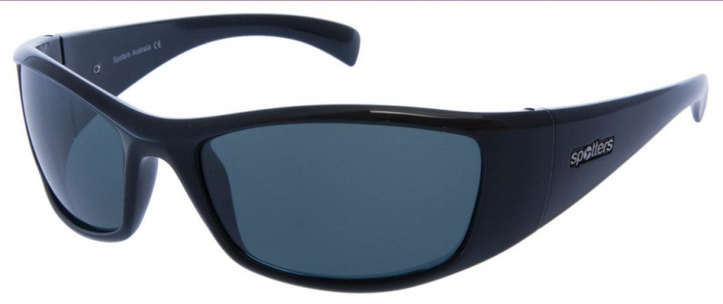 Spotters Polarised Sunnies Artic +, Grey Glass