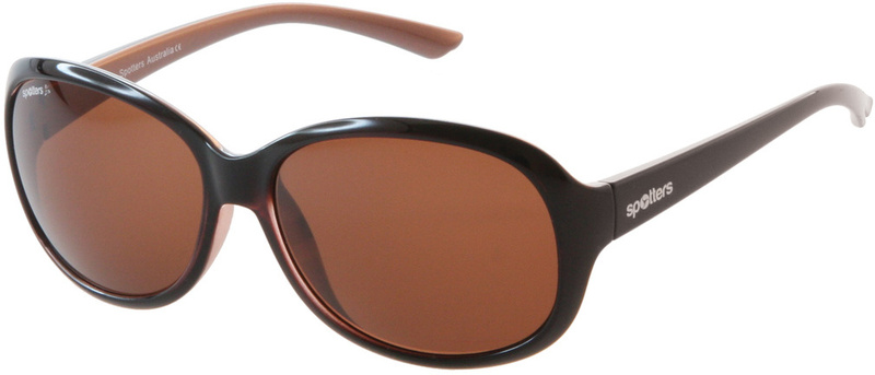 Spotters Sunglasses Ava Pearl Brown, Copper Halide Photochromic Polarised Glass