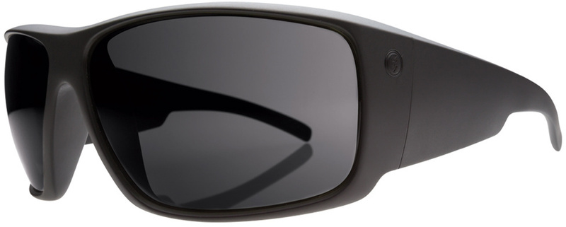 Electric Backbone Sunglasses Matte Black, Grey Polarised