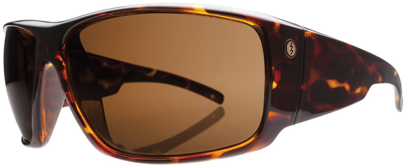 Electric Backbone Sunglasses Tortoise Shell, Bronze