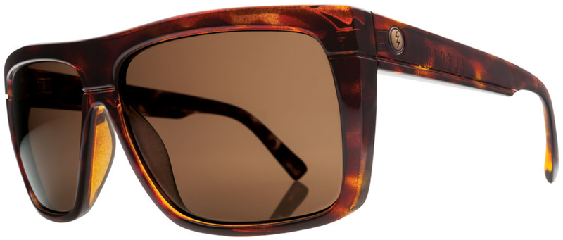 Electric BlackTop Sunglasses Tortoise Shell with CR39 Melanin Bronze Polarised