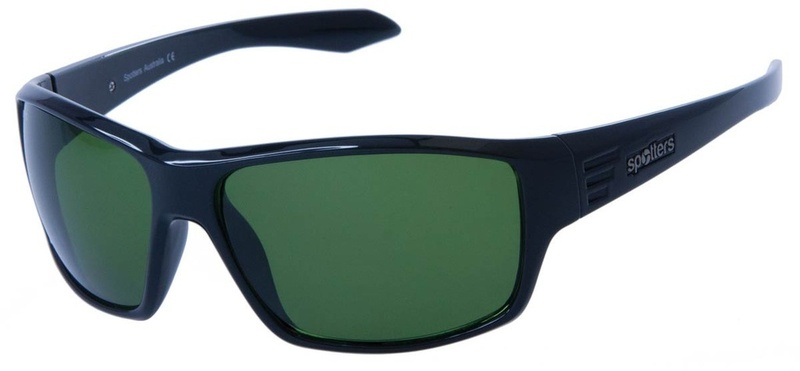 Spotters Sunglasses Blaze CR Emerald Polarised