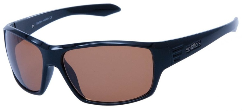 Spotters Sunnies Black, Black Copper Penetrator
