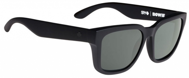 Spy Sunglasses Matte Black Happy Grey Polarised