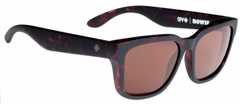 Spy Bowie Sunglasses Matte Camo Tort, Happy Bronze