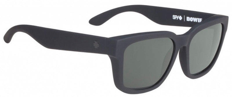 Spy Sunglasses Bowie Soft Touch, Happy Grey Lenses