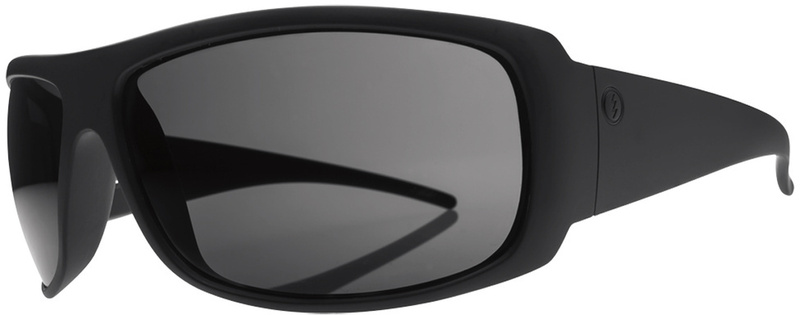 Electric Eyewear Charge XL Matte Black with Grey Polarised Lenses