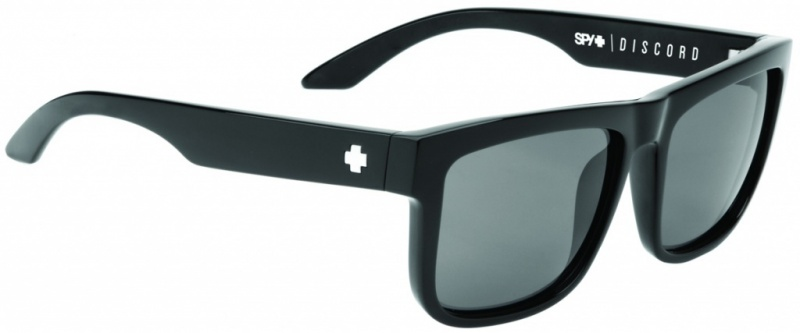 Spy Discord Black with Grey Lenses Mens Sunglasses