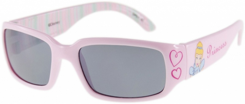 Pink with Heart/Grey Lenses
