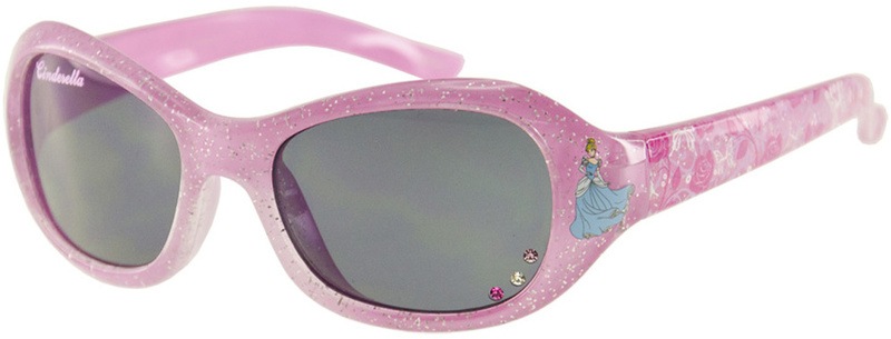 Pink Sparkle Cinderella with Grey Lenses