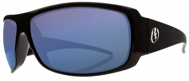 Electric Eyewear Charge Gloss Black with VE Blue Polarised Lenses