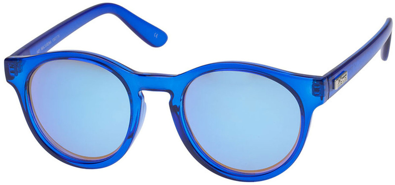 Le Specs Sunnies Hey Macarena Ultramarine with Blue Smoke Gradient Lenses