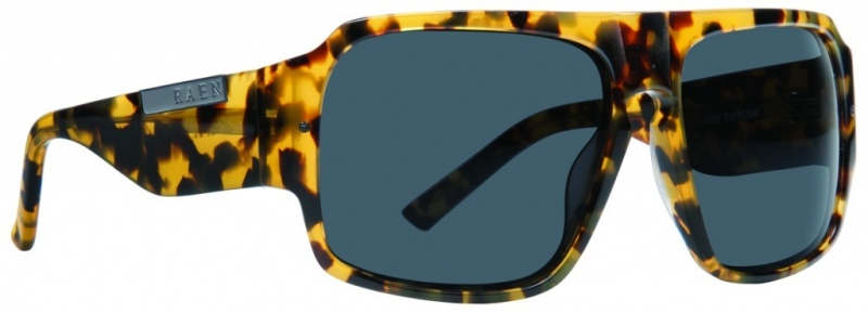Raen Eyewear Kovac Cider Tortoise with Green CR38 Lenses