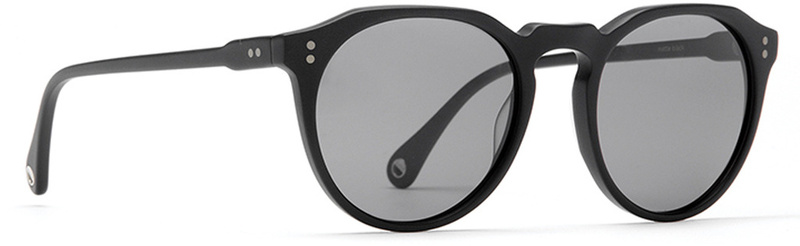 Raen Remmy Matte Black Sunglasses with Grey Lenses