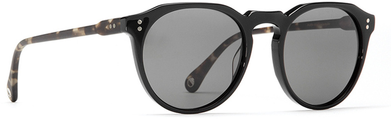 Raen Sunglasses Remmy Matte Brindle Black with Grey Polarised lenses