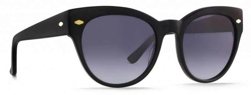 Raen Sunglasses Maude, Black Grey Gradient Lenses