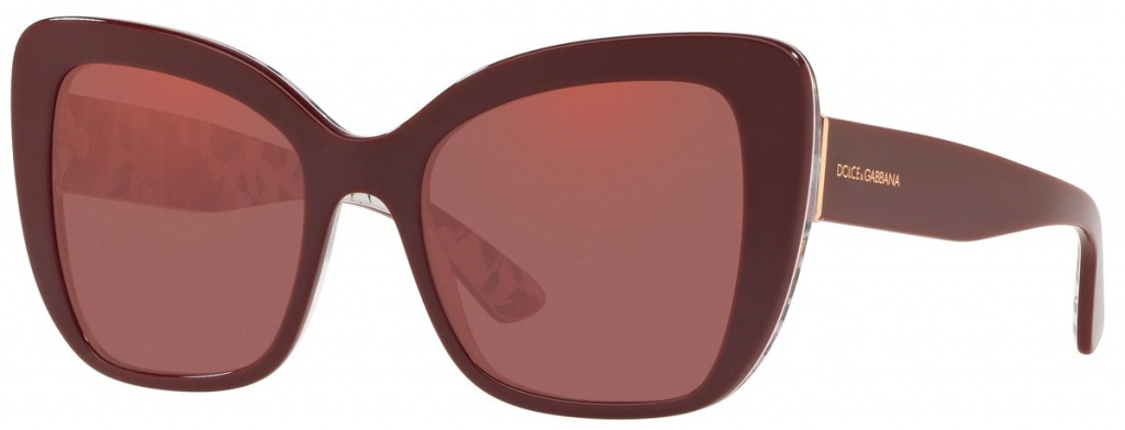 Bordeaux on Rose and Peony/Violet Mirror Lenses