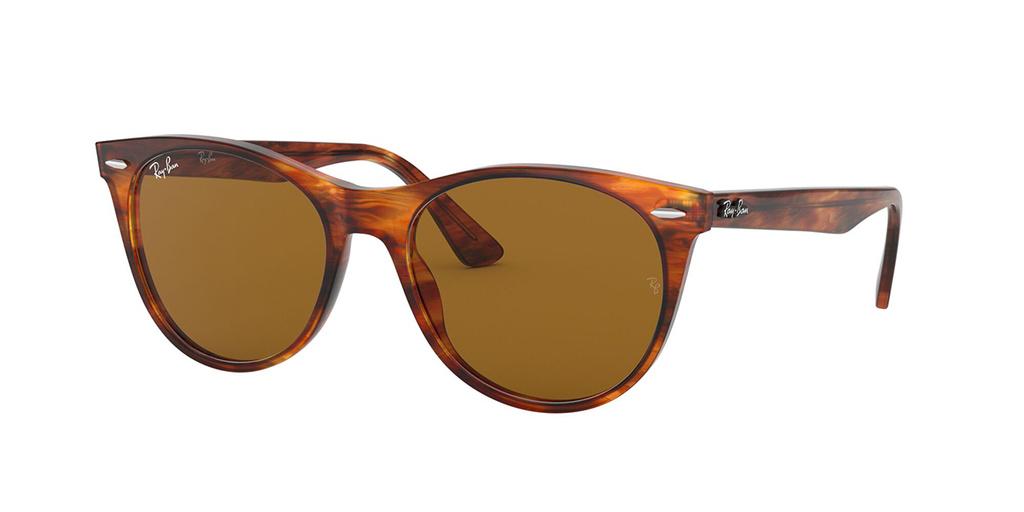 Striped Havana/Brown Polarised Lenses 52 Eye Size