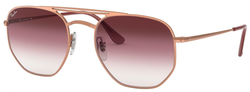 Demi Gloss Copper/Brown Pink Transparent Gradient Lenses