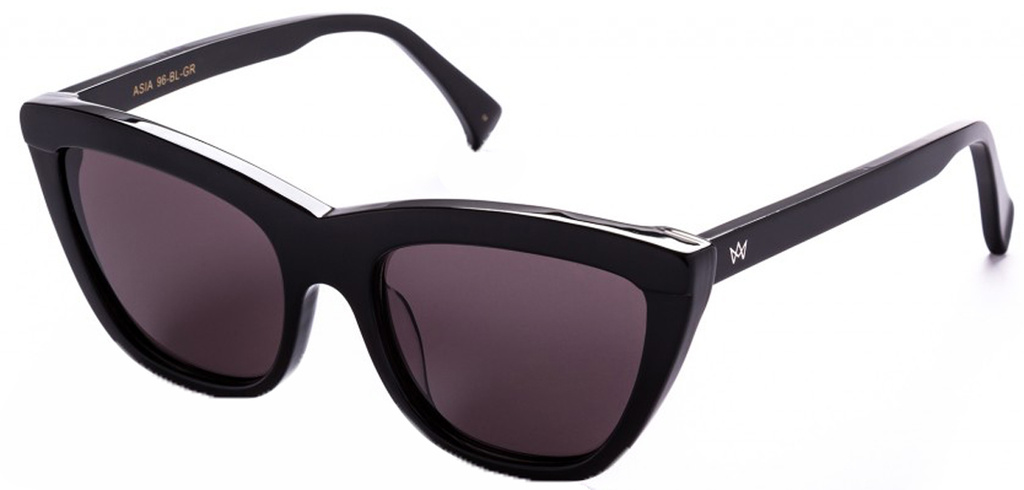 Asia - AM Eyewear - Black 96BLGR