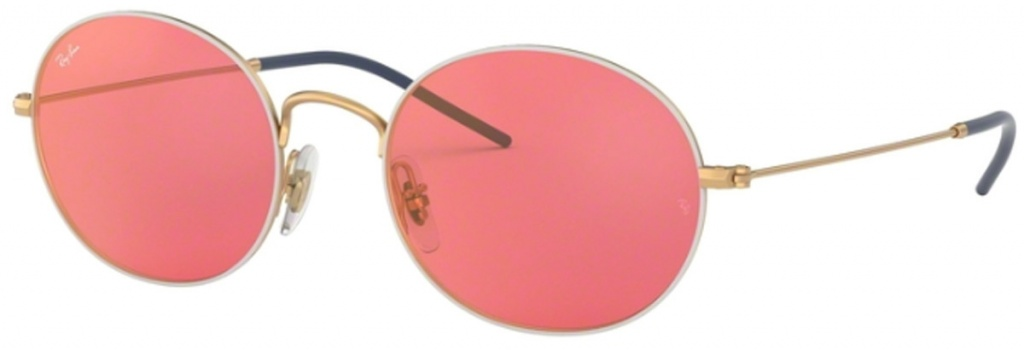d25a740b98 Gold on Top White Pink Mirror Red Lenses