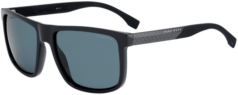 Boss By Hugo Boss 0879/S Black, Grey Polarised Lenses