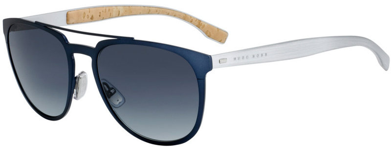 Boss By Hugo Boss 0882/S Matte Blue, Grey Gradient Lenses