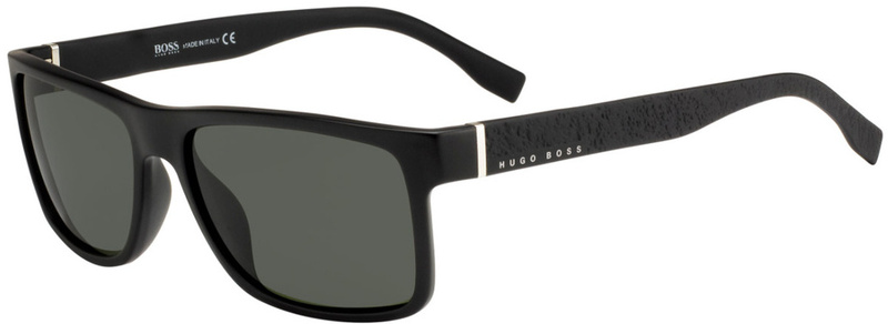 Boss By Hugo Boss 0919/S Matte Black, Grey Blue Lenses