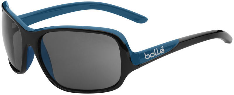 Bolle Kassia Sunglasses Shiny Black Blue with Polarised TNS Lenses