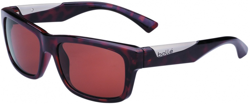 Bolle Sunglasses Jude Shiny Tort with Polarised A-14 Oleo AR