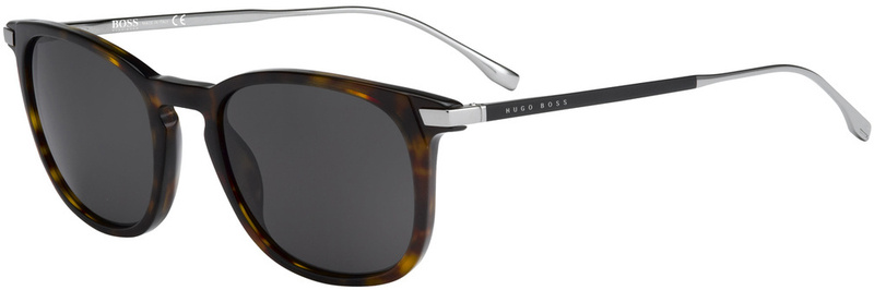 Boss By Hugo Boss Sunnies 0783/S Dark Havana, Grey Lenses