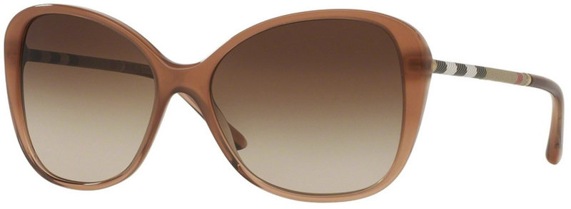 Burberry BE4235Q Brown, Brown Gradient Lenses