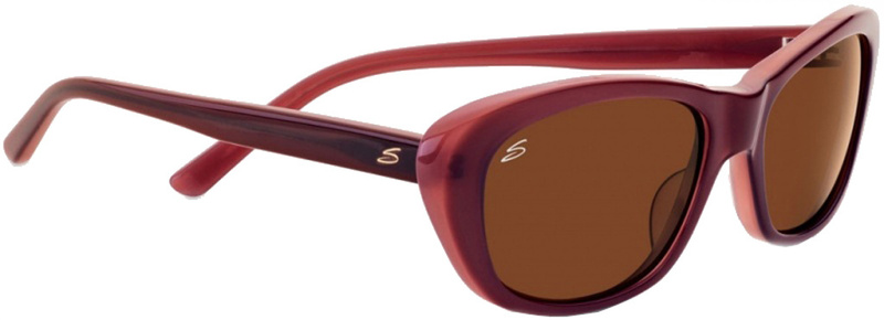 Serengeti Bagheria Wine Sunglasses with Drivers Polarised Lenses