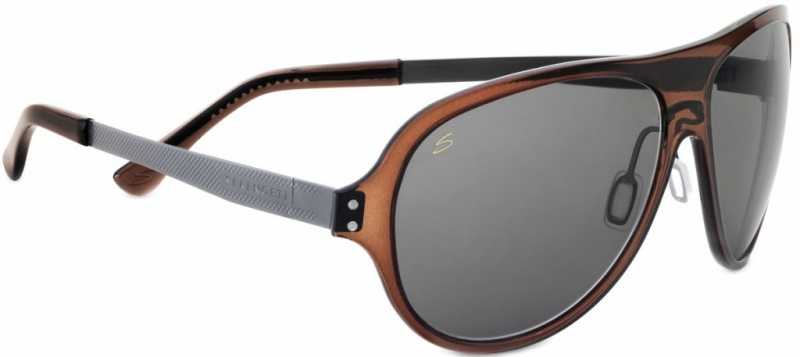 Serengeti Sunglasses Alice Crystal Dark Brown, Polar PhD CPG Lenses