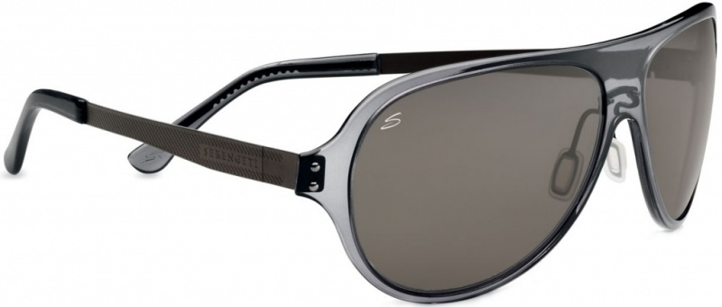 Serengeti Alice Shiny Tort Sunglasses with Pol PhD Drivers Lenses