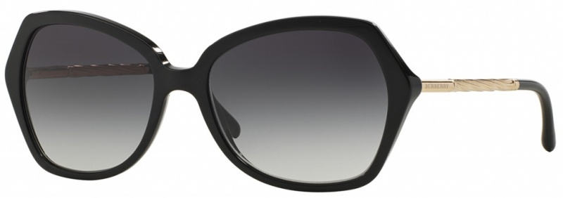 Burberry BE4193 Black Gold, Grey Gradient Lenses