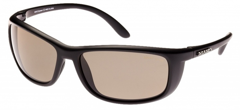 Mako Blade Matte Black with Brown Glass Photochromatic Lenses