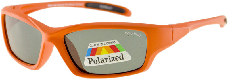 Orange and Grey Polarised Kids Sunglasses