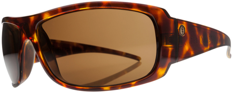 Electric Charge XL Sunglasses Tortoise Shell with Bronze Lenses