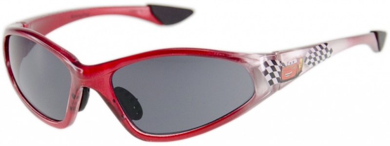 Red with Flags/Grey Lenses