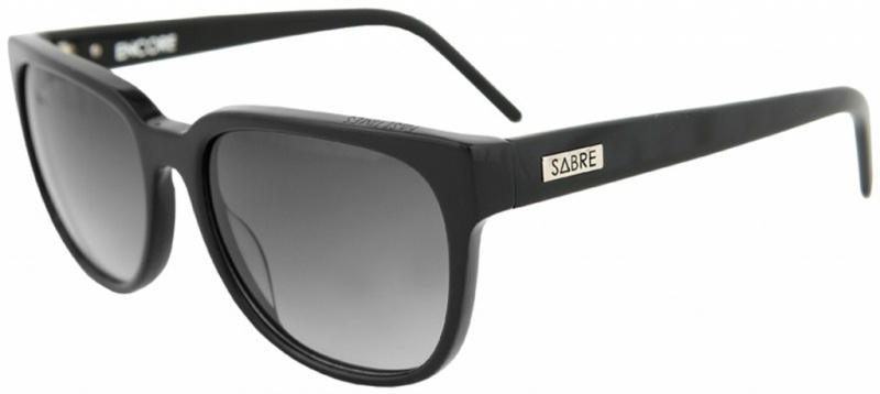 Sabre Encore Black with Grey Gradient Lenses