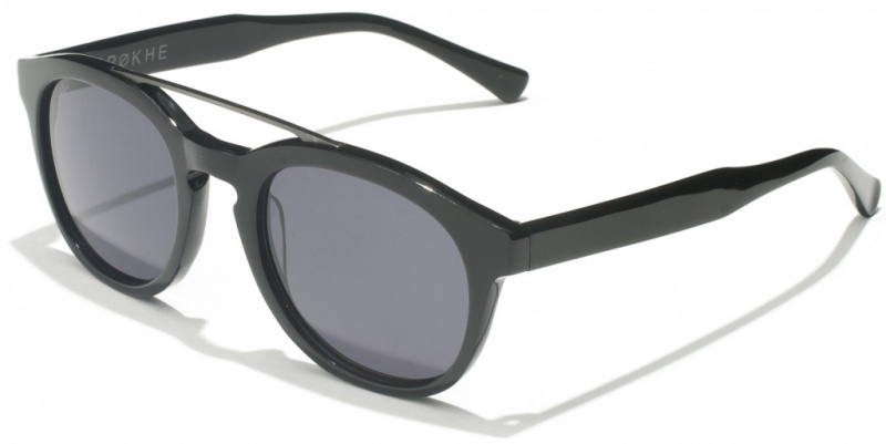 Epokhe Anteka Black Matte with Grey Lenses